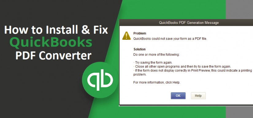 QuickBooks PDF Converter Not Working: All You Need To Know