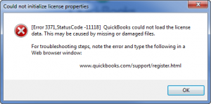 QuickBooks License Error